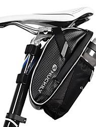 cheap -Nuckily Bike Saddle Bag Reflective Cycling for Black Cycling / Bike / Waterproof Zipper
