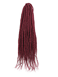 """cheap -Braiding Hair Senegalese Twist Crochet Hair Braids Synthetic Hair 1pack Hair Braids 18"""""""