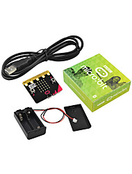 abordables -keyestudio micro bit kit de base avec support de batterie& USB câble de programmation cablegraphique bluetooth