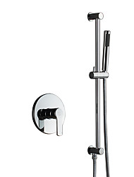 cheap -Simple Style Hand Shower / Rain Shower Chrome Feature - Handshower Included / Shower, Shower Head