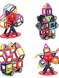 cheap -Magnetic Blocks Magnetic Tiles Building Blocks 95 pcs Architecture Covers New Design Geometric Pattern Hand-made Decompression Toys Classic & Timeless Geometric Pattern All Boys' Girls' Toy Gift