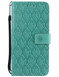 cheap -Case For Nokia Nokia 6 / Nokia 5 / Nokia 3 Wallet / Card Holder / with Stand Full Body Cases Solid Colored Hard PU Leather
