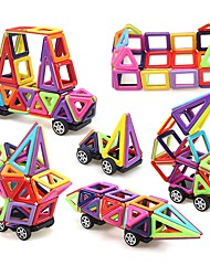 cheap -Magnetic Blocks Magnetic Tiles Building Blocks 76 pcs Architecture Covers New Design Geometric Pattern Hand-made Decompression Toys Classic & Timeless Geometric Pattern All Boys' Girls' Toy Gift