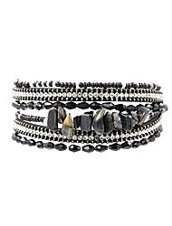 cheap -Women's Wrap Bracelet Ladies Bohemian Fashion Boho Stone Bracelet Jewelry Gray / Green / Pink For Daily Holiday