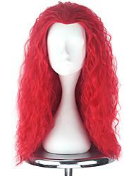 cheap -Cosplay Wigs Men's Women's 22 inch Heat Resistant Fiber Red Anime / Princess Lolita