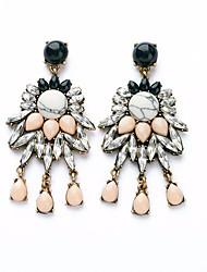 cheap -Women's Drop Earrings Dangle Earrings Drop Statement Bohemian Resin Earrings Jewelry Rainbow For Wedding Evening Party
