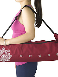 cheap -22 L Yoga Mat Bag - Leisure Sports, Fitness Large Capacity, Waterproof, Breathable Canvas Gray, Purple, Red