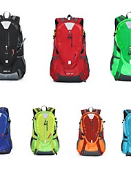 cheap -40 L Hiking Backpack Sports & Leisure Bag Rucksack Waterproof Zipper Comfortable Outdoor Hiking Outdoor Exercise Nylon Orange Dark Blue Green