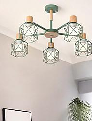 Недорогие -5-Light 70 cm Подвесные лампы Металл Окрашенные отделки Современный современный 110-120Вольт / 220-240Вольт