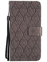 cheap -Case For Sony Z4 Mini / Z5 Mini / Sony Xperia XZ Wallet / Card Holder / with Stand Full Body Cases Solid Colored Hard PU Leather