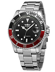cheap -WINNER Men's Casual Watch Fashion Watch Analog Automatic self-winding Casual Calendar / date / day / Stainless Steel