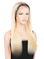 cheap -blonde full lace human hair wigs with baby hair peruvian straight pre plucked remy hair wigs for black women 150 density