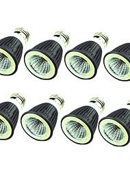 cheap -8pcs 7 W LED Spotlight 550 lm E14 E26 / E27 1 LED Beads COB Decorative Warm White Cold White 220-240 V