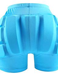 Недорогие -Противоударные защитные шорты / Компрессионные шорты с подкладкой для Катание на лыжах / Катание на коньках Защитный Практика Черный / Персиковый / Небесно-голубой