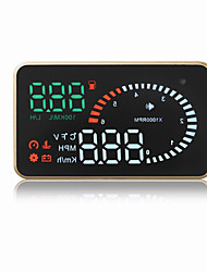 Недорогие -X6 3 Дисплей заголовка Автоматическое конфигурирование для Грузовик Автобус Автомобиль Дисплей KM / h MPH