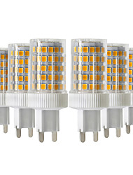 cheap -YWXLight® 6pcs 10W 900-1000lm G9 LED Bi-pin Lights 86LED 2835SMD  High Quality Ceramic Dimmable LED Light Bulb AC 220-240V