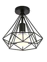 cheap -Vintage Loft Simple Mini Diamond Shape Ceiling Lamp Flush Mount Lights Entry Hallway Game Room Kitchen Light Fixture