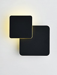 cheap -CONTRACTED LED Matte LED / Modern / Contemporary Wall Lamps & Sconces Living Room / Bedroom / Study Room / Office Metal Wall Light