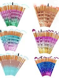 cheap -Professional Makeup Brushes Makeup Brush Set 20pcs Full Coverage Synthetic Hair ABS Makeup Brushes for Makeup Brush Set