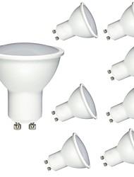 cheap -8pcs 6 W LED Spotlight 600 lm GU10 MR16 1 LED Beads COB Dimmable Decorative Warm White Cold White 220-240 V / RoHS