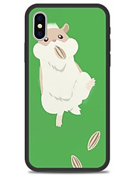cheap -Case For Apple iPhone X / iPhone 8 Plus / iPhone 8 Pattern Back Cover Animal / Cartoon Hard Acrylic