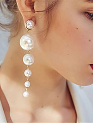 cheap -The Great Gatsby Drop Earrings Ball Earrings Classical Pendant Elegant & Luxurious 1920s Imitation Pearl Lolita Jewelry For Event / Party Prom Women's Girls' Costume Jewelry Fashion Jewelry