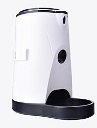 Недорогие -Собаки Коты Животные Вода и корм / Кормушки 4 L Автоматические кормушки для животных Автоматические дозаторы воды для животных Однотонный Белый Чаши и откорма