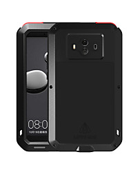 cheap -Case For Huawei Mate 10 Water / Dirt / Shock Proof Full Body Cases Solid Colored Hard Metal