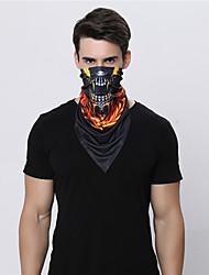Недорогие -WOSAWE Спортивная маска Лицевая Маска Велоспорт Темно-синий Красный Темно-синий Шерсть для Муж. Жен. Взрослые / Эластичная / Горные велосипеды / Шоссейные велосипеды