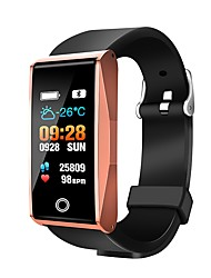 Недорогие -Mate1 Женский Смарт Часы Android iOS Bluetooth Контроль APP Bluetooth Защита от влаги Сенсорный датчик Педометры / Напоминание о звонке / Датчик для отслеживания активности / Сидячий Напоминание