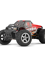 cheap -RC Car L219 4 Channel 2.4G Monster Truck Bigfoot 1:10 Brush Electric 30 km/h