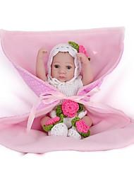 cheap -NPKCOLLECTION NPK DOLL Reborn Doll Girl Doll Baby Girl 12 inch Full Body Silicone Silicone Vinyl - Newborn lifelike Cute Hand Made Child Safe New Design Kid's Unisex / Girls' Toy Gift / Floppy Head