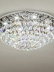 cheap -8-Light 70 cm Crystal / Bulb Included / Designers Chandelier Metal Electroplated Chic & Modern 110-120V / 220-240V