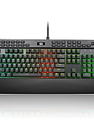cheap -REDRAGON K550RGB USB Wired Mechanical Keyboard Gaming Keyboard Luminous with Wrist Rest Programmable RGB Backlit 104 pcs Keys