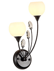 cheap -LightMyself™ Crystal Modern / Contemporary / Country Wall Lamps & Sconces Living Room / Bedroom / Kitchen Metal Wall Light 110-120V /