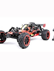 cheap -RC Car ROVAN 2.4G Rock Climbing Car / Off Road Car / Drift Car 1:5 Gas 40 km/h