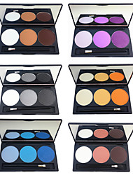 cheap -6 Colors Eyeshadow Palette Powders Matte Shimmer EyeShadow Waterproof Matte Cute Shimmer Glitter Shine Palette smoky Long Lasting Daily Makeup Halloween Makeup Party Makeup Cosmetic Gift