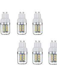 cheap -6pcs 3W 280lm GU10 LED Corn Lights 27 LEDs SMD 5050 Warm White 220-240V