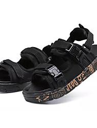 cheap -Boys' Comfort PU Sandals Black / Gold / Black / White / Black / Red Summer