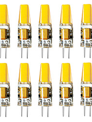 cheap -10 pcs G4 3W 1LED Dimmable Corn Light DC12V White / Warm White