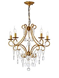 cheap -LightMyself™ 5-Light 61 cm Chandelier Metal Painted Finishes Vintage / Chic & Modern 110-120V / 220-240V