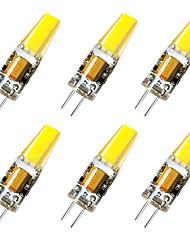 cheap -6 pcs G4 3W 1LED Dimmable Corn Light AC12V White / Warm White