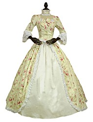 cheap -Costume Print Vintage Cosplay Lace Plus Size Customized