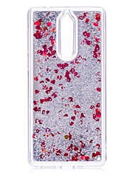 cheap -Case For Nokia Nokia 8 / Nokia 6 / Nokia 3 Flowing Liquid / Mirror / Glitter Shine Back Cover Glitter Shine Hard PC