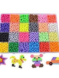 cheap -3D Puzzle Family Parent-Child Interaction Plastic 3600 pcs Kid's Gift