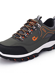cheap -Men's Spring & Summer / Fall & Winter Classic / British Daily Outdoor Trainers / Athletic Shoes Hiking Shoes Leather / Mesh Breathable Wear Proof Black / Yellow / Green