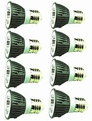 cheap -8pcs 5 W LED Spotlight 450 lm E14 E26 / E27 1 LED Beads COB Decorative Warm White Cold White 220-240 V