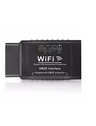 cheap -ELM327 V1.5 OBD2 WIFI Vehicle Diagnostic Scanners Black