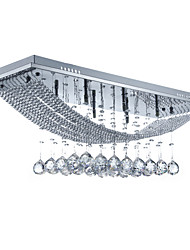 cheap -SL® 8-Light 75 cm Crystal / Bulb Included Flush Mount Lights Metal Electroplated Modern Contemporary 110-120V / 220-240V / G4