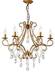 cheap -LightMyself™ 6-Light 70 cm Chandelier Metal Painted Finishes LED / Retro Vintage 110-120V / 220-240V